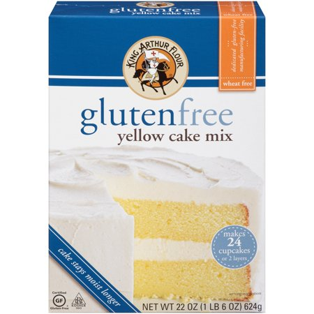 King Arthur Flour Gluten Free Yellow Cake, 22 OZ (Pack of 6) - King Cape