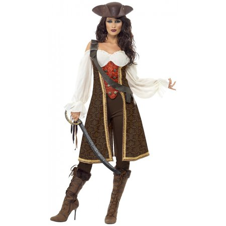 Halloween Costumes Tavern Wench (High Seas Pirate Wench Adult Costume -)