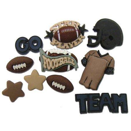 Dress It Up Embellishments-Football