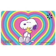 Peanuts Hearts Walmart Gift Card