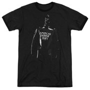 American Horror Story Rubber Man Mens Adult Heather Ringer Shirt