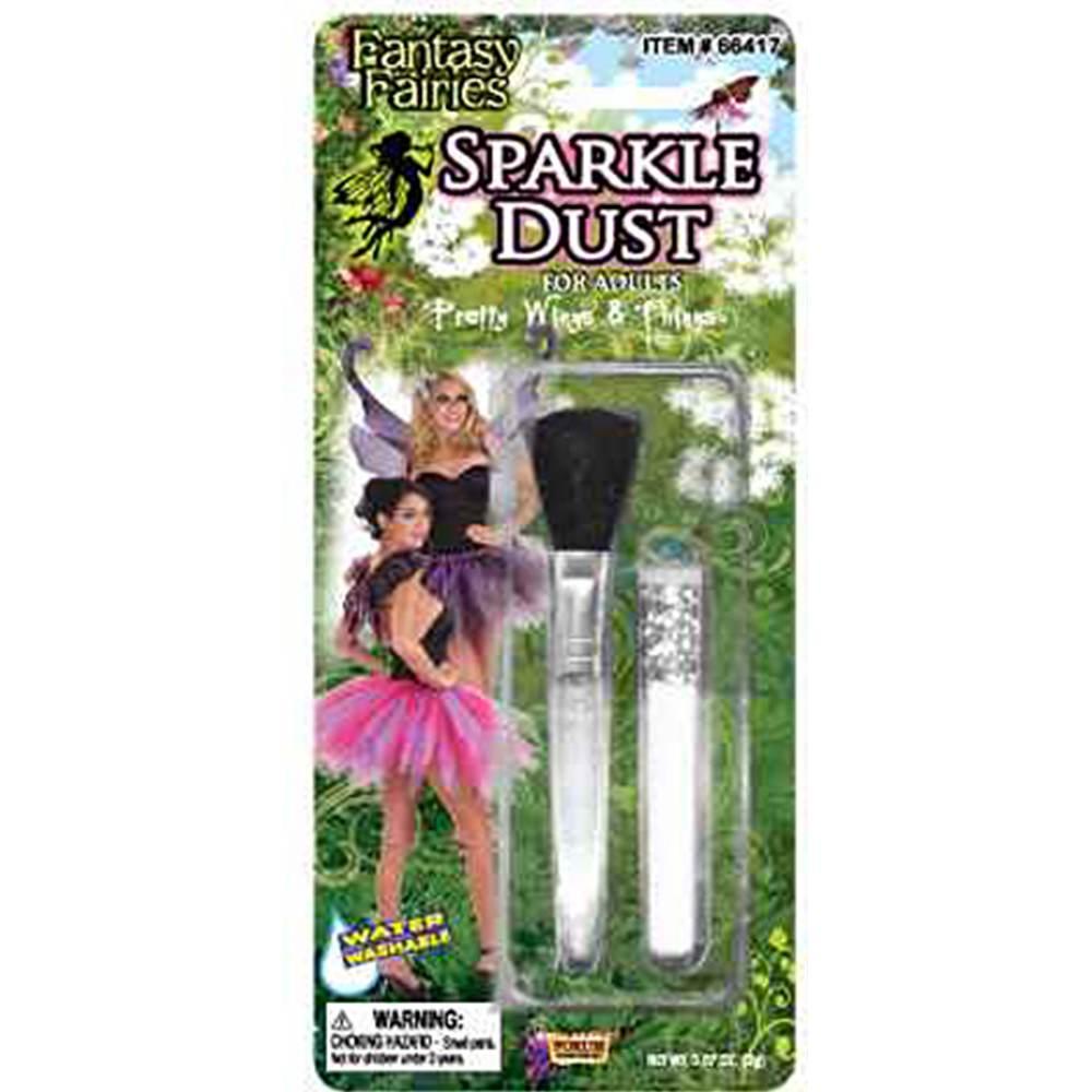Pixie Fairy Princess Costume Glitter Dust Makeup Set