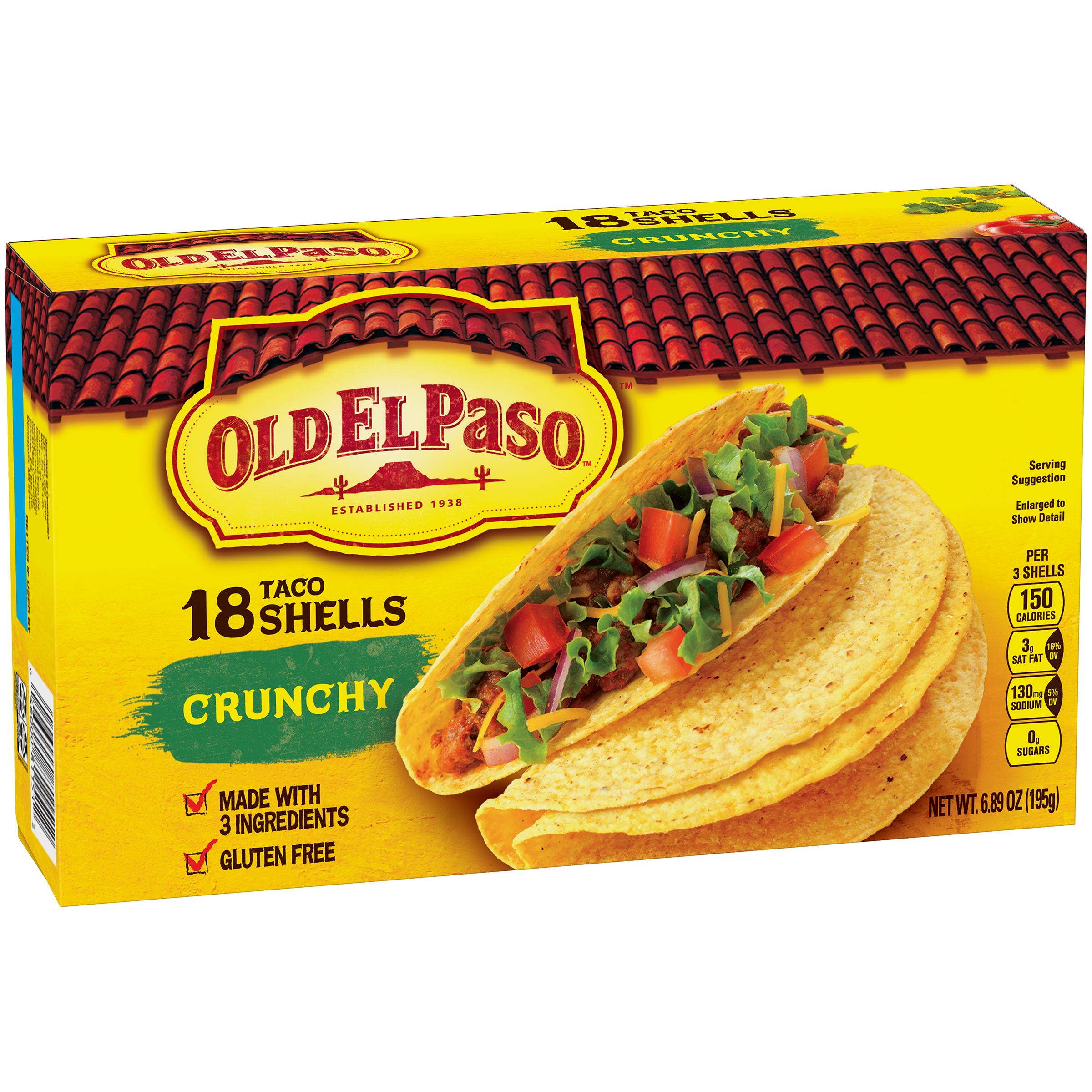 Old El Paso��� Crunchy Taco Shells 18 ct Box