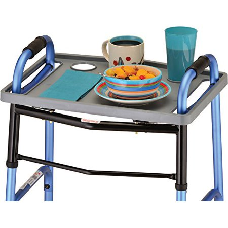 Nova Medica Tray for Folding Walker - Veggie Tray For Halloween