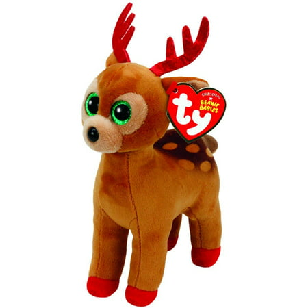 dee3fa9031b Cp Ty Beanie Babies - Tinsel the Reindeer Christmas (Glitter Eyes) Small 6