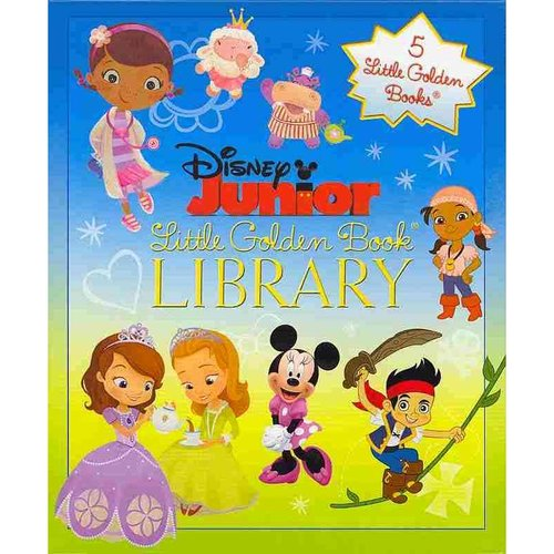Disney Junior Little Golden Book Library