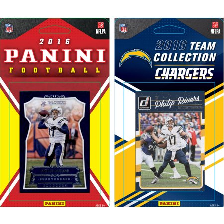 C & I Collectables NFL San Diego Chargers Licensed 2016 Panini and Donruss Team set