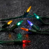 Product Image Home Heritage 500 LED Count 40 yard Indoor Outdoor Christmas Lights, Multicolor