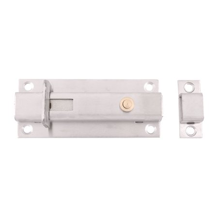 Locking Steel Bolts - Classroom Stainless Steel Door Cupboard Sliding Lock  Bolt 4 Inch Length