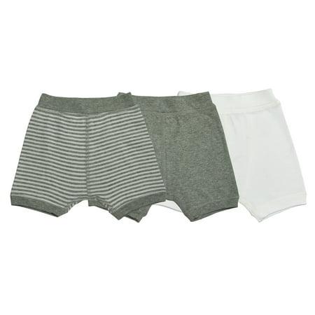 Organic Boxer Shorts, Multi-Colored, 18M, 3