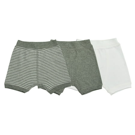 - Organic Boxer Shorts, Multi-Colored, 12M, 3 Ct