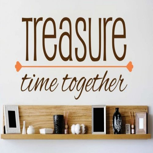 Design With Vinyl Treasure Time Together Wall Decal