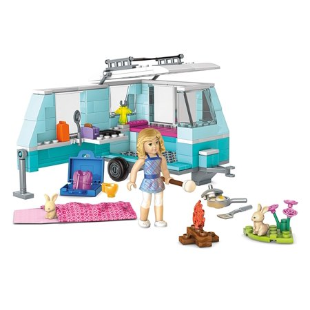 Girl From Transformers (Mega Construx American Girl Lanie's Camping Trip Building Set..., By Mega Bloks Ship from)