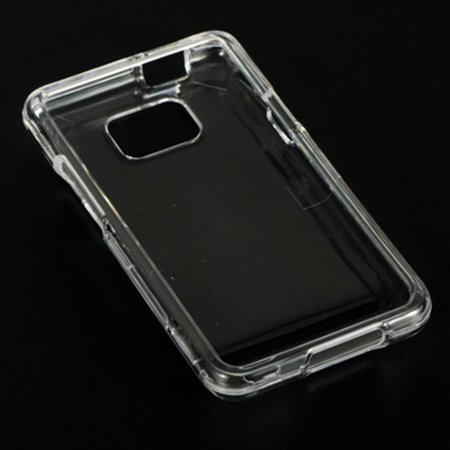 Insten Crystal Hard Snap On Protective Back Shell Case Cover For Samsung Galaxy S2 Attain I777 - Clear ()