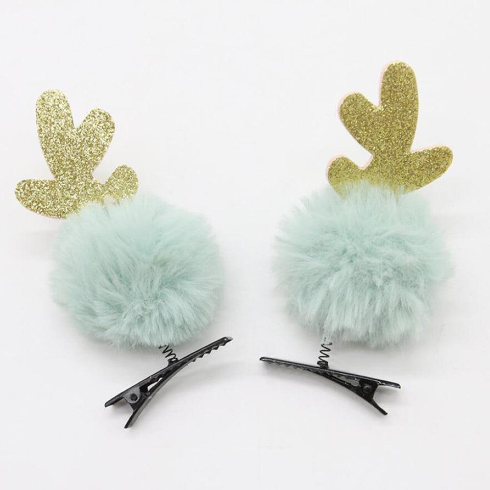 Christmas Children's Hairpin Cute Spring Hairpin Hair Accessories Tiara Dress Up