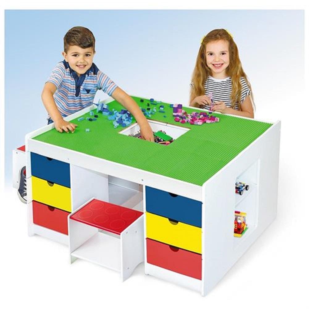 Jupiter 2-in-1 Block Building Table - Walmart.com