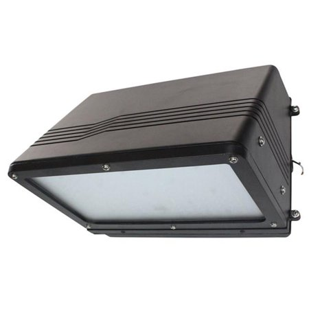 Larson Electronics LEDHWW-900-56K-BRN 120 - 277V AC & 90 watt Brown Traditional LED Wall Washer, Replaces 400 watt Metal Halide Fixtures, IP65 -