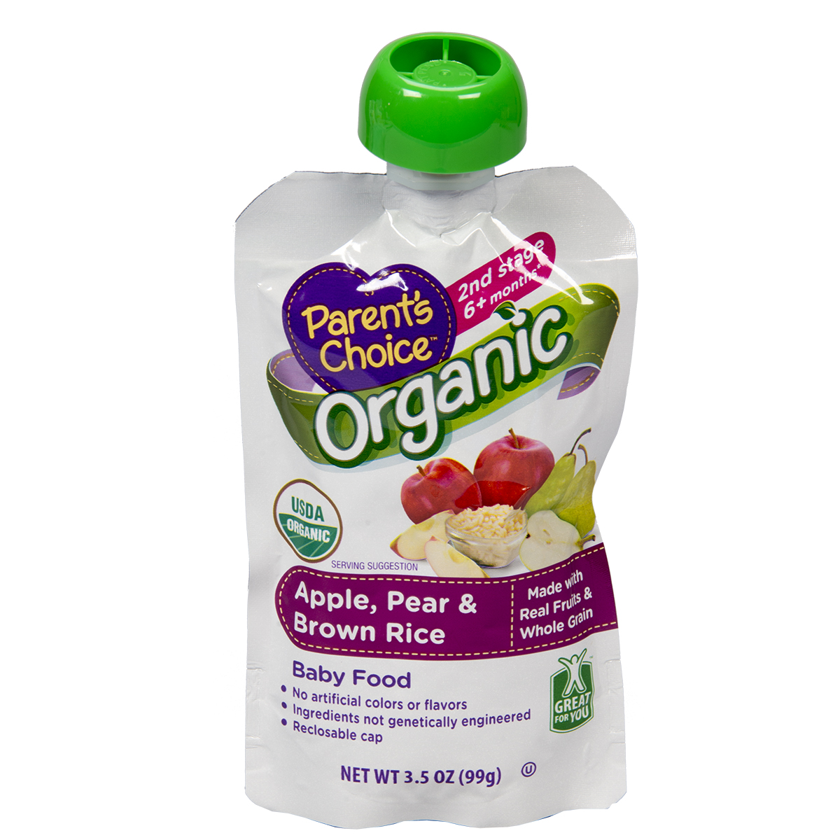 Non Toxic Baby Food Pouch