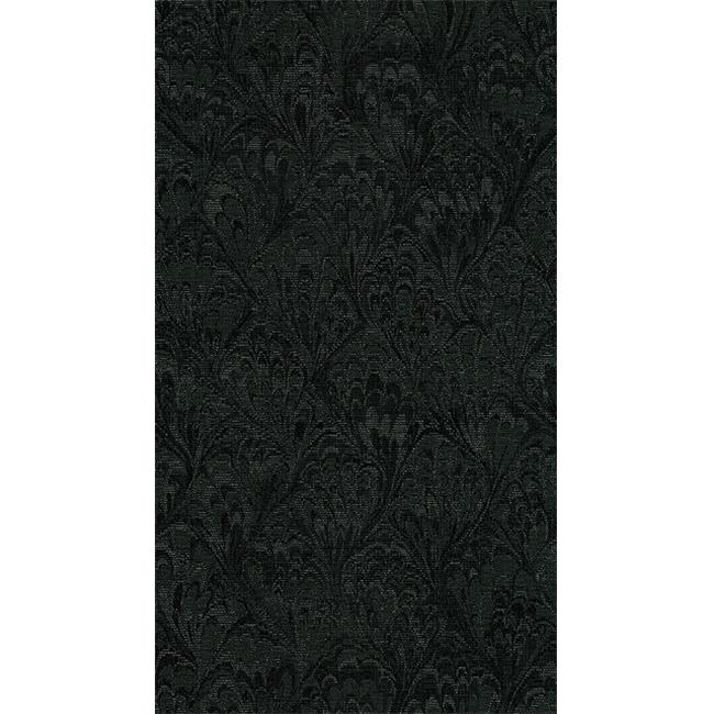 Crypton Glam 9009 Woven Jacquards Fabric, Black