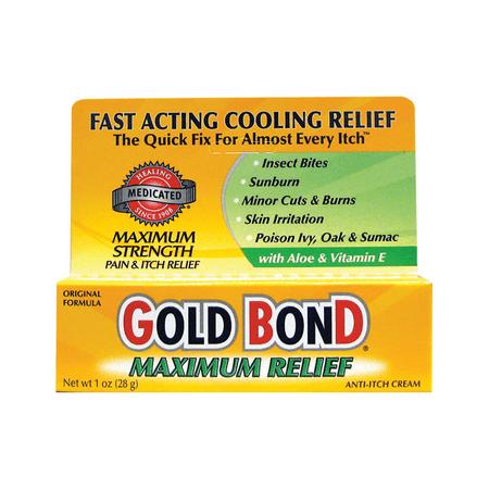 Gold Bond Anti-Itch Cream - Maximum Strength 1 oz Cream