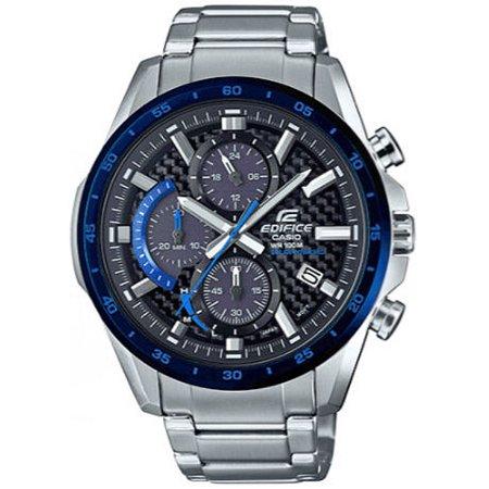 Men's Casio Edifice Chronograph Solar Powered Watch EQS900DB-2AV EQS-900DB-2AVCR