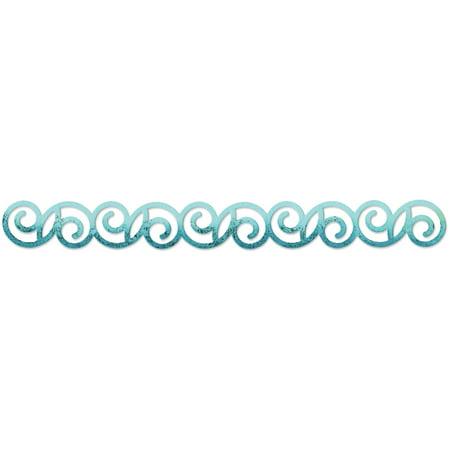 (Sizzix Sizzlits Decorative Strip Die By Basic Grey, Curly #2)