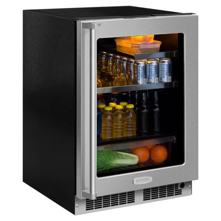 Marvel Professional 24-Inch Left Hinge Beverage Center With - Beverage Center Left Hinge
