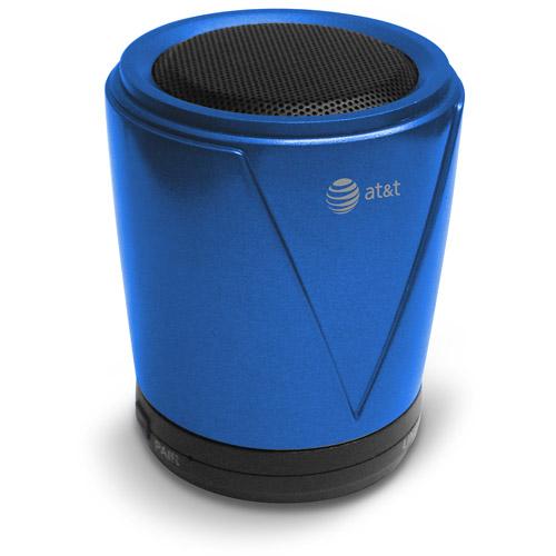 AT&T Hot Joe Portable Bluetooth Speaker, Blue