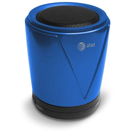 AT Hot Joe Portable Bluetooth Speaker, Blue