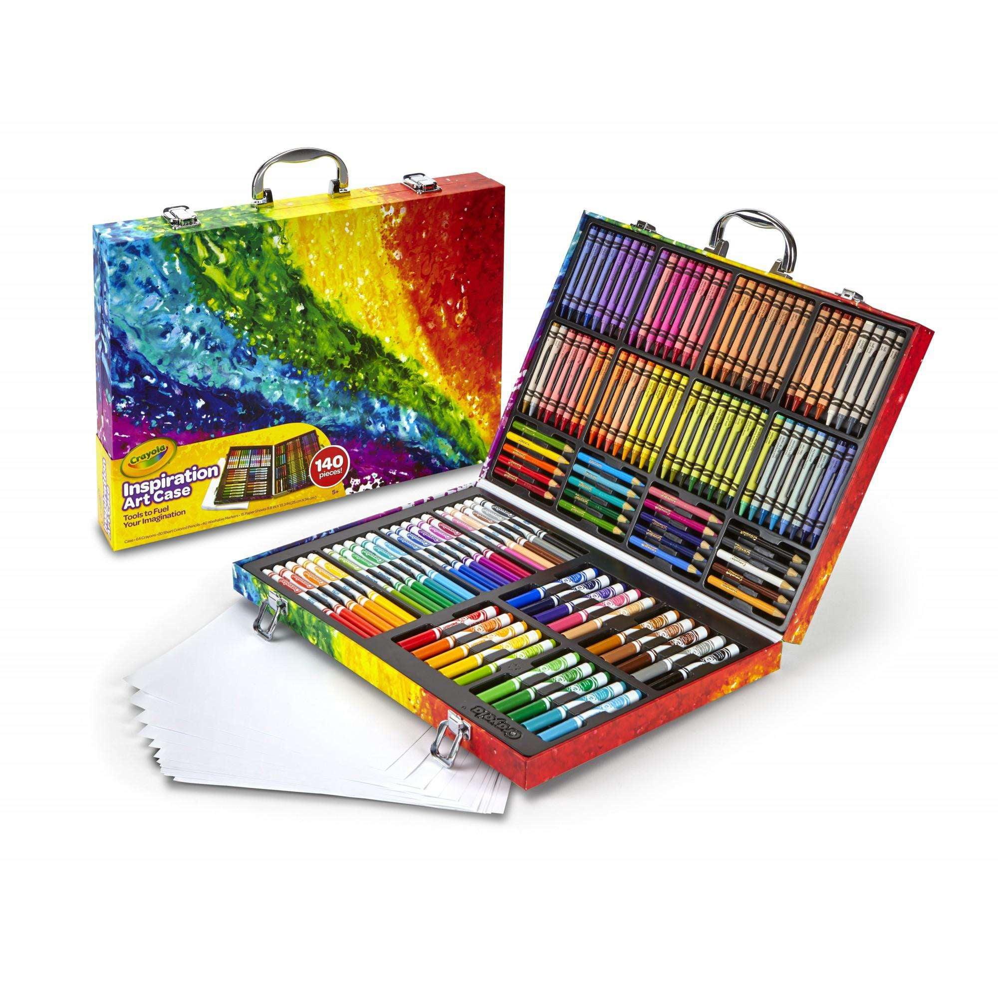Crayola Inspiration Art Case, 140 Piece Art Set, Ages 3+
