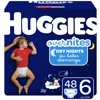 HUGGIES OverNites Diapers, Size 6, 48 Count
