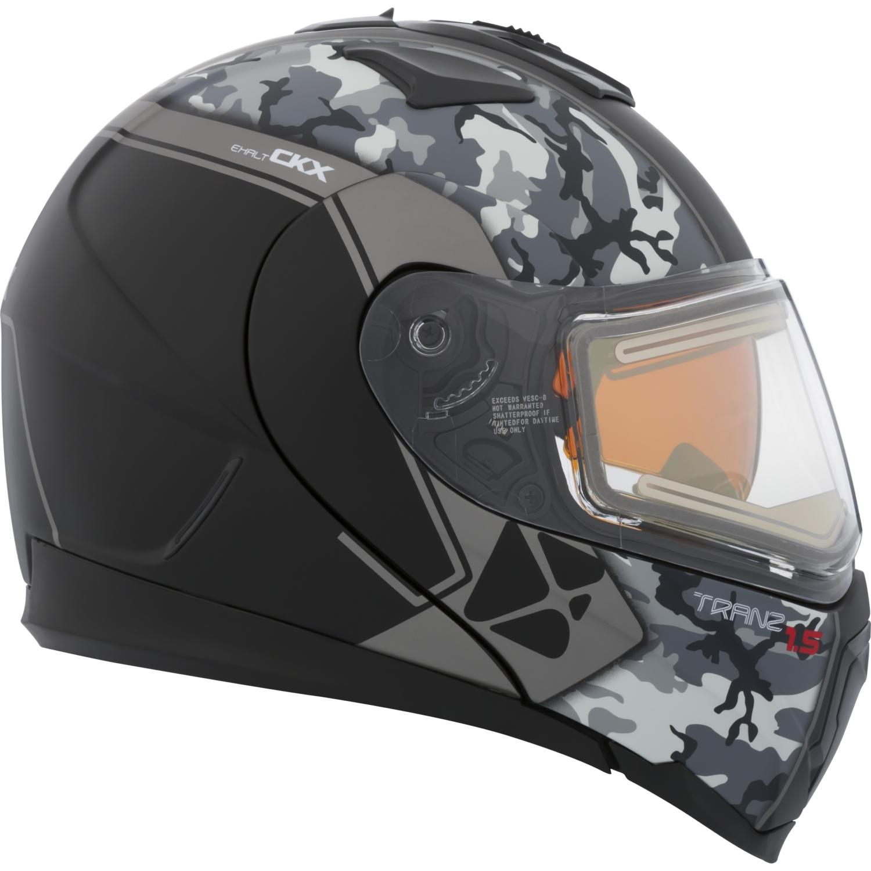 CKX Exalt Tranz 1.5 RSV Modular Helmet, Winter Electric Double Shield