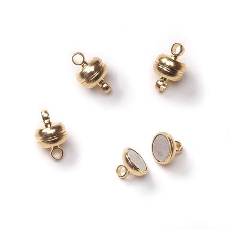 Mag Clasp Gold Color 7X11Mm