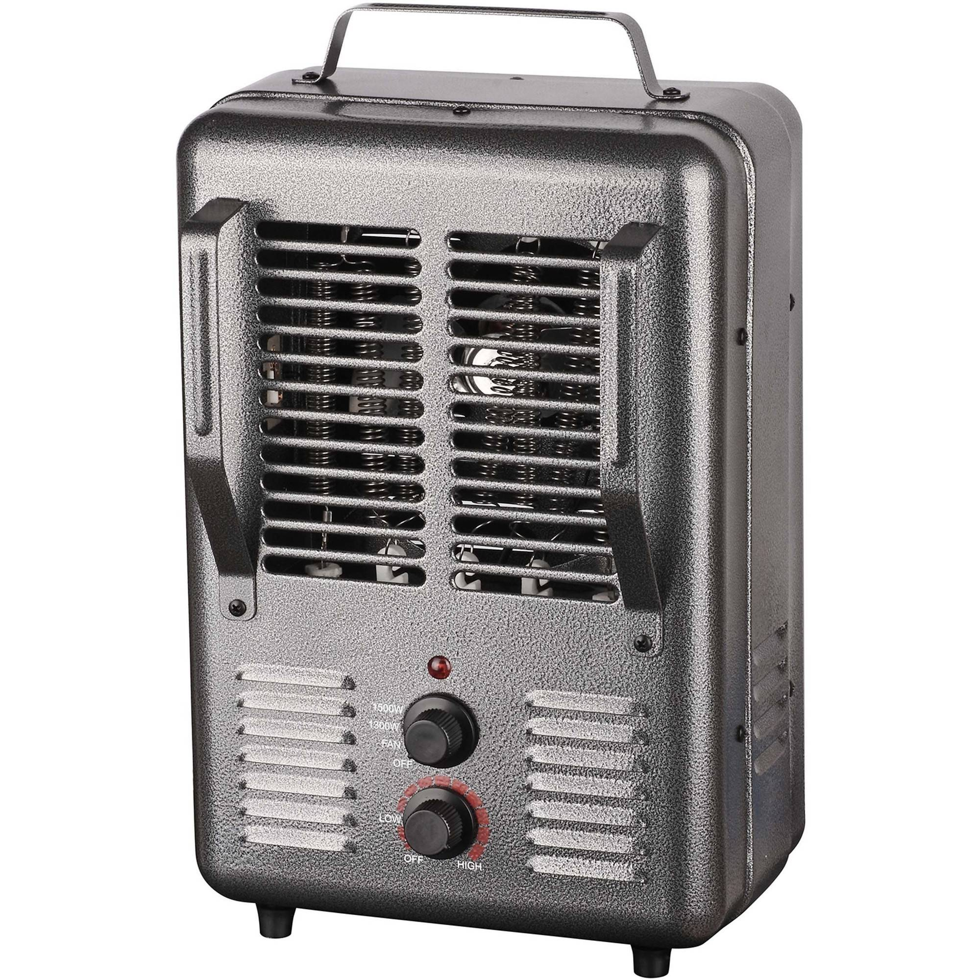 King PHM-1 120V Portable Electric Milk House Heater, Grey