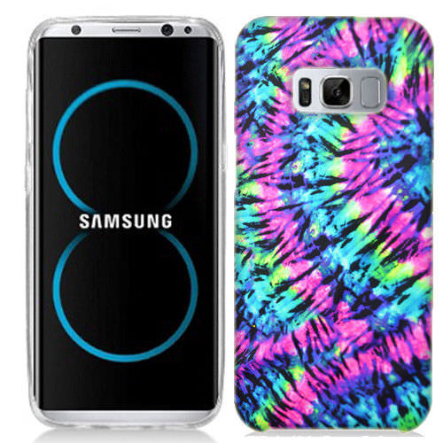 MUNDAZE Hippie Tie Dye Case Cover For Samsung Galaxy S8 ACTIVE