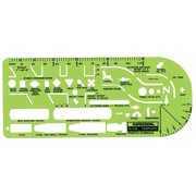 Alvin&Co 130R General Traffic Drawing Template