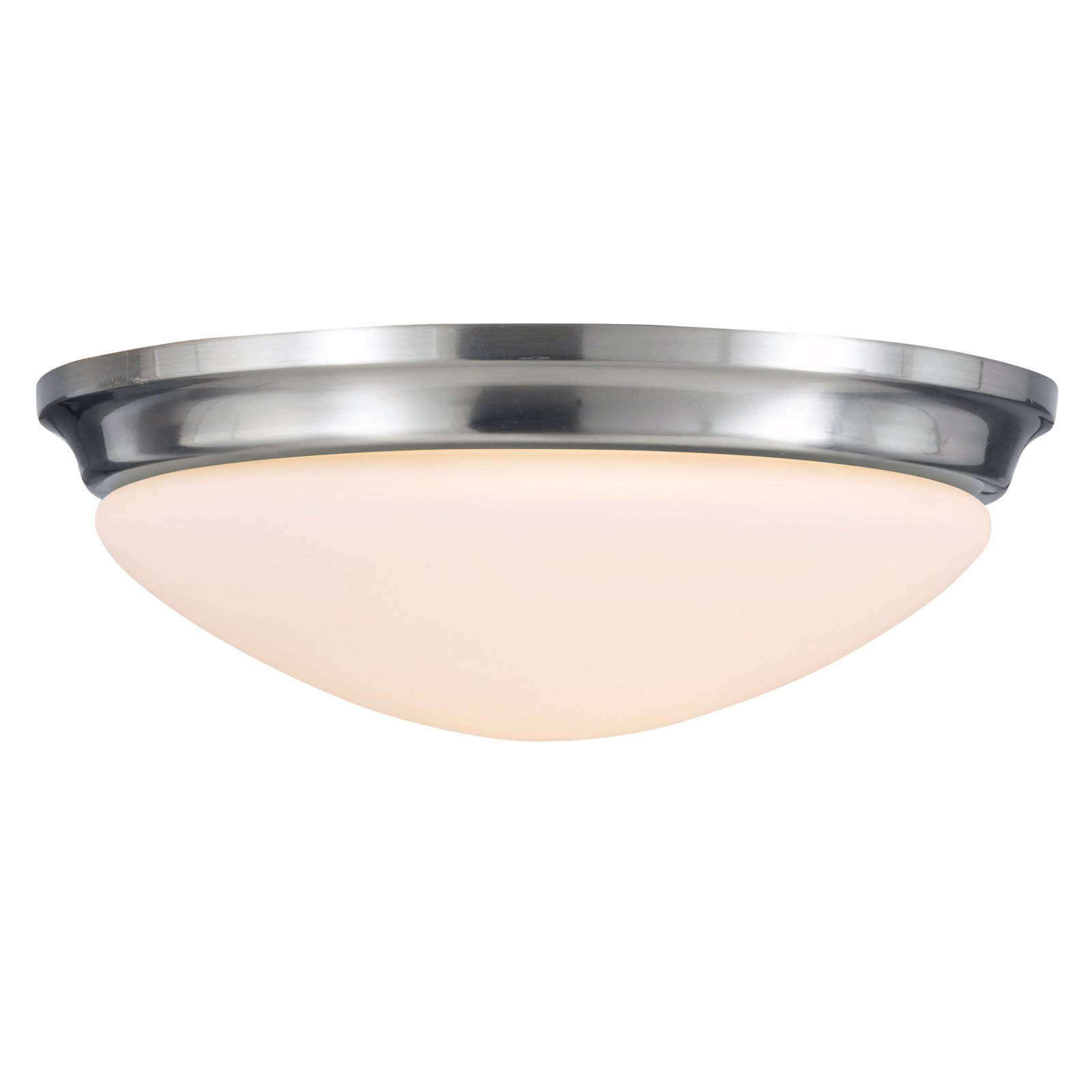 Feiss Barrington Ceiling Light 14W in. Brushed Steel by Murray Feiss