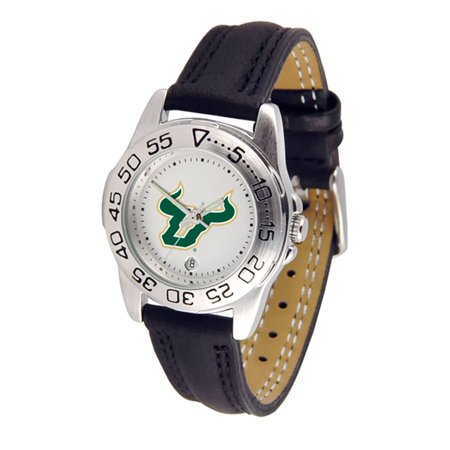 "South Florida Bulls NCAA ""Sport"" Ladies Watch (Leather Band)"