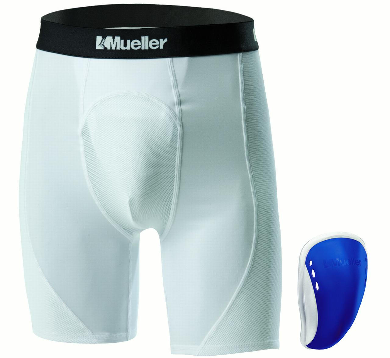 MUELLER YOUTH ATH SUP SHORT FLEX SHIELD CUP-REG