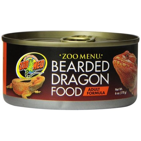 Zoo Med Natural Bearded Dragon Adult Formula - Canned 6