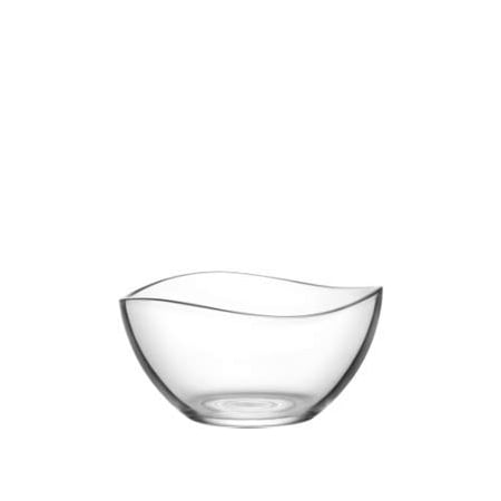 "Lavatory Set Lav Set - LAV 2.25 Ounce Mini Glass Bowls | Beautiful Wavy Design, Thick, Durable Glass, For Sauces, Condiments, Candy and More, Microwave and Dishwasher Safe, 6 Piece Set, 2.5"" x 1.5"""