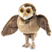 Hand Puppet - Folkmanis - Owl Burrowing New Animals Soft Doll Plush Toys 2578