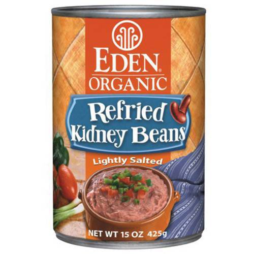 Eden Refried Kidney Beans, Organic, 15 Ounce (Pack of 6)