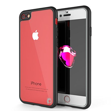 iPhone 7 Case, Punkcase [MASK Series] Full Body Hybrid Dual Layer TPU Cover