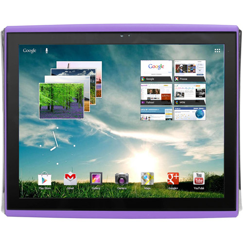 "LePan 9.7"" Capacitive Touchscreen Tablet Featuring Google Mobile Services and Android 4.0 with 4GB Memory & 4GB card, Purple"