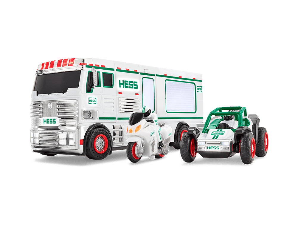 Hess 2018 Toy Truck RV with ATV and Motorbike by Unassigned