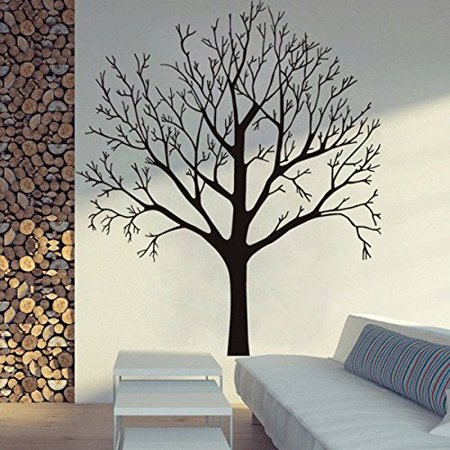 "Bare TREE ~ Small, Med, or Large Wall Decal (Lrg: 35"" x 40"")"