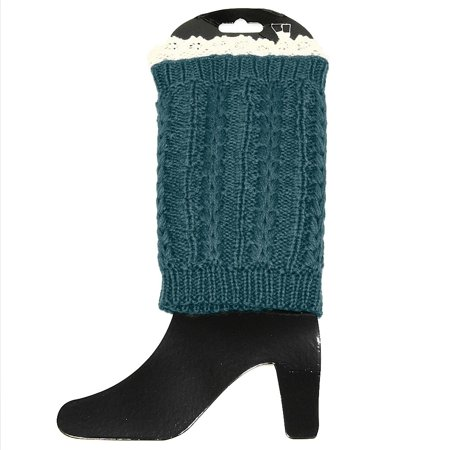 Falari Women Crochet Knitted Leg Warmer