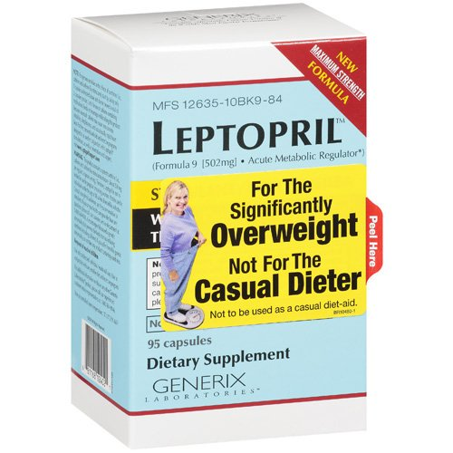 Generix Dietary Leptopril For The Significantly Overweight Supplement