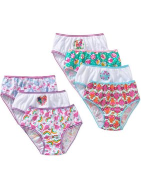 Trolls, Girls Underwear, 7 Pack Panties (Little Girls & Big Girls)